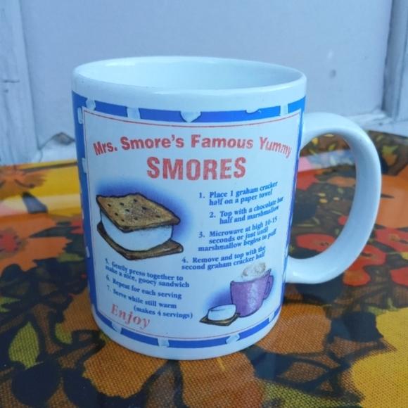 VINTAGE SMORES HOLIDAY COFFEE MUG
